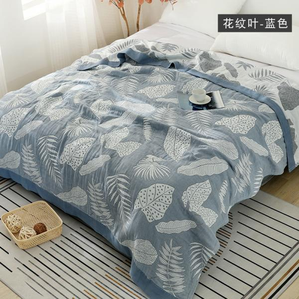 Five-layer gauze Xialiang quilt towel pure cotton air conditioner quilt baby blanket