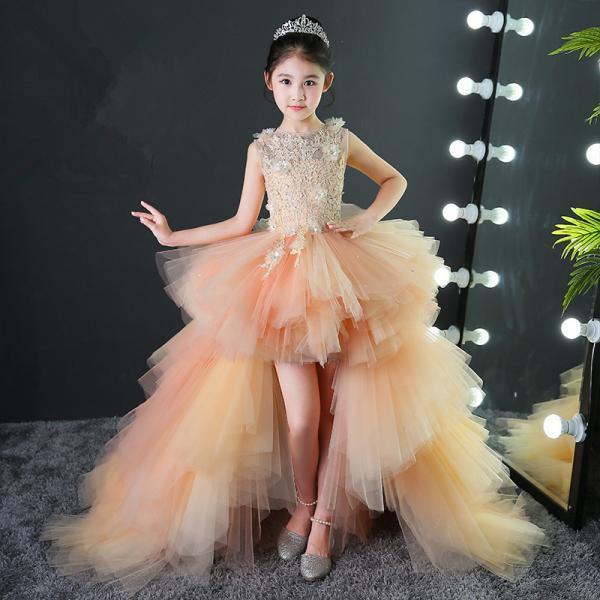 Children's Dresses Princess Skirts Girls Evening Dresses Little Girls Beauty Pageants