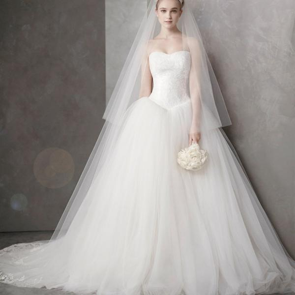 Wedding dress bride trailing one-shoulder high-end lace satin 2020 new Korean simple wedding dress
