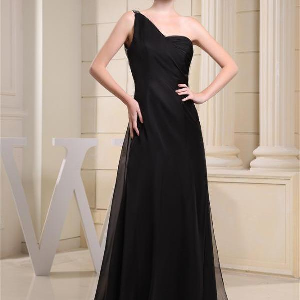 Bridesmaid dress chiffon long formal wedding evening dress