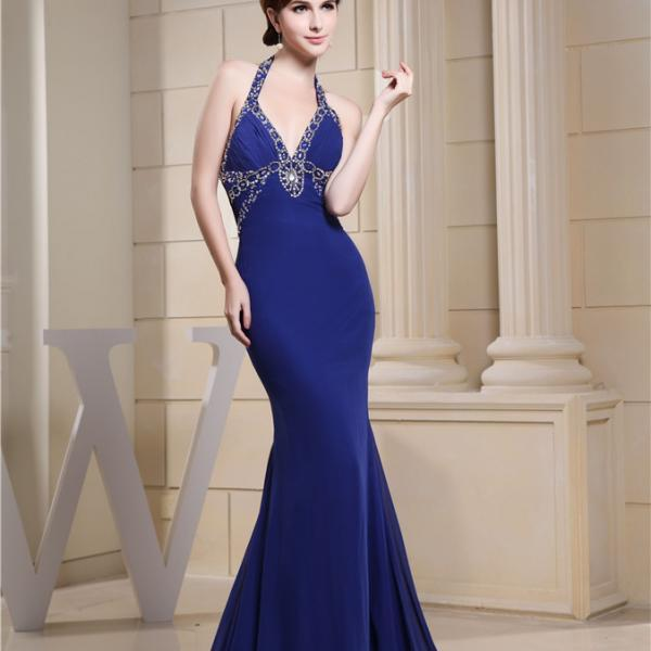Women Chiffon Character Prom Dress Party Dress